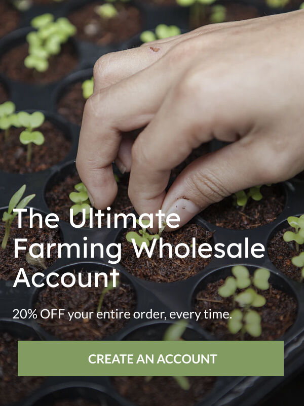 Sign up for an Urban Farmer wholesale account
