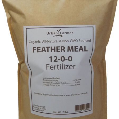 Feather Meal Fertilizer,  Fertilizers - 16 Pounds image number null