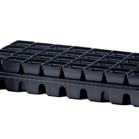 32 Cell Tray w/ Removable Containers, Seed Starting - 1 Set image number null
