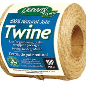 Natural Jute Twine, Crop Supports