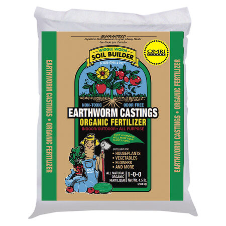 Soil Builder Earthworm Castings, Soils - 4 Pounds image number null