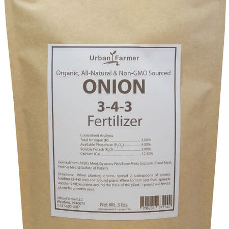Organic Onion Fertilizer, Fertilizers - 3 Pounds image number null