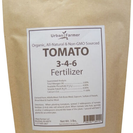 Organic Tomato Fertilizer, Fertilizers - 24 Pounds image number null