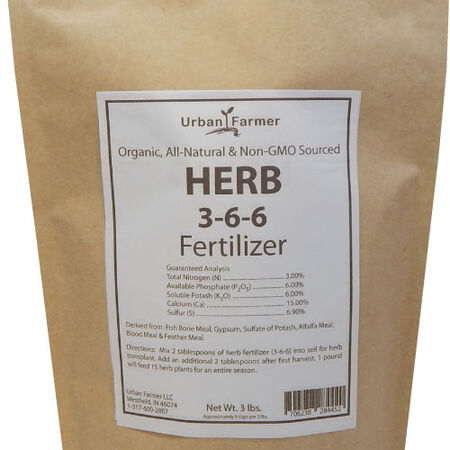 Organic Herb Fertilizer, Fertilizers - 6 Pounds image number null