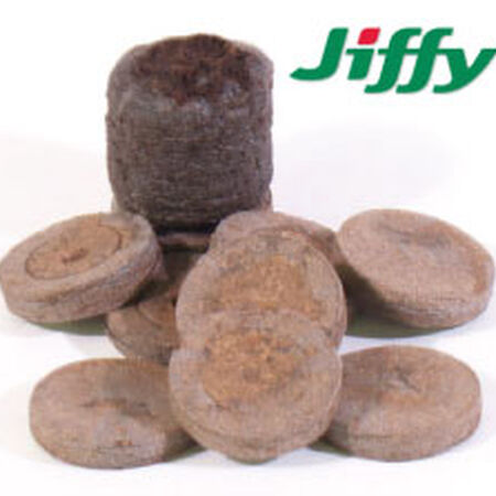 Jiffy Soil Pellets, Seed Starting - 100 Pellets image number null