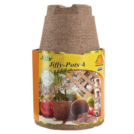 """Jiffy-Pots 4"""", Seed Starting - 60 Pots image number null"""