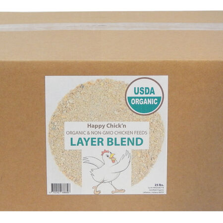 Organic, Non-GMO Layer Chicken Feed image number null