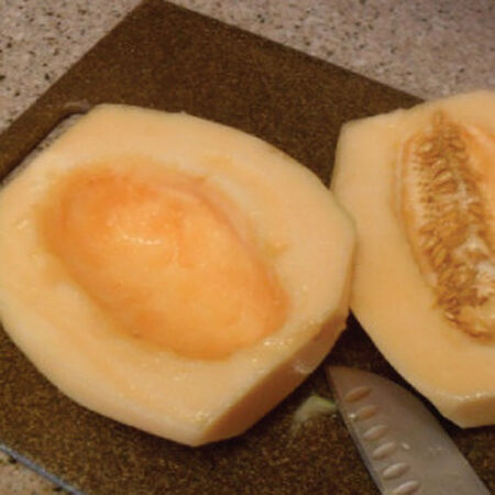 Crenshaw, Cantaloupe Seeds - Packet image number null
