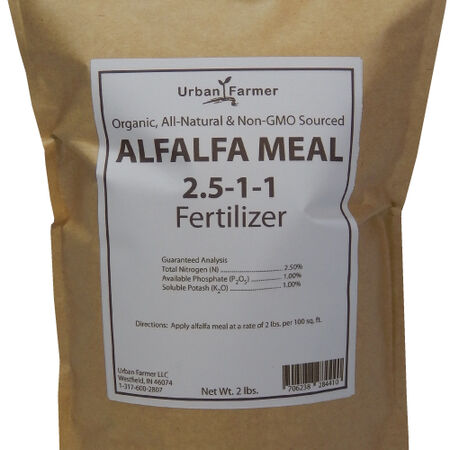Alfalfa Meal Fertilizer,  Fertilizers - 16 Pounds image number null