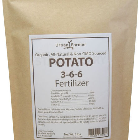 Organic Potato Fertilizer, Fertilizers - 24 Pounds image number null