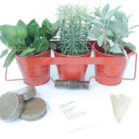 Metal Herb Kit with Handle, Herb Kits - Purple image number null