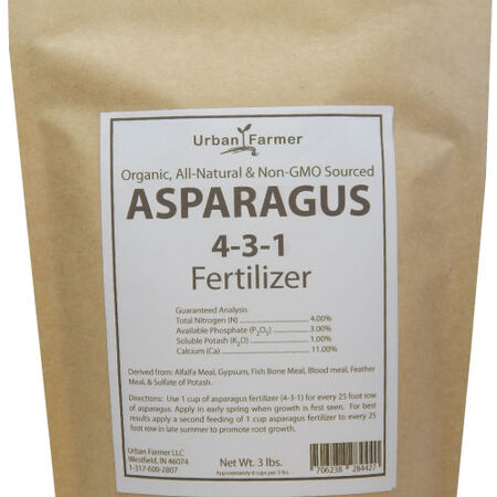Organic Asparagus Fertilizer, Fertilizers - 24 Pounds image number null
