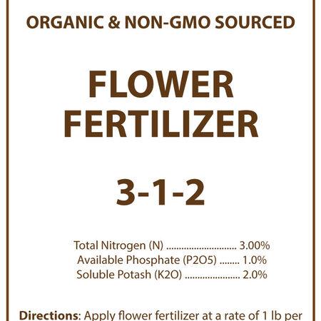 Organic Flower Fertilizer - 3 Pounds image number null